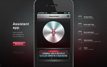 Assistant App Website