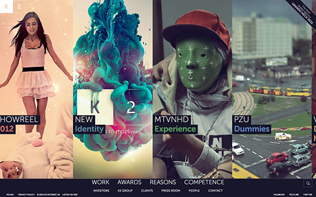 K2 digital agency website