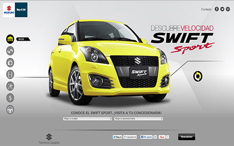 Suzuki Swift Sport Mexico