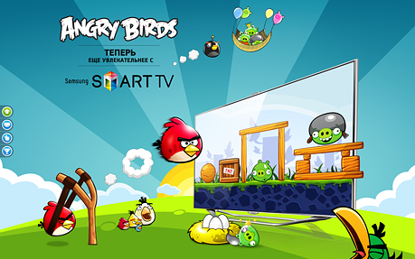 Angry Birds on Smart TV