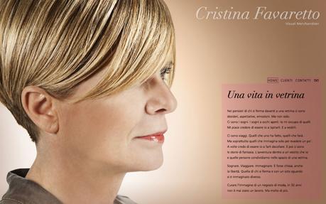 Cristina Favaretto - Visual Merchandiser