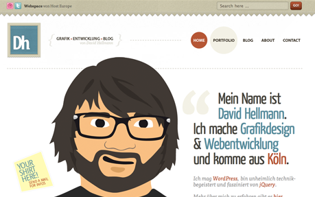 David Hellmann - Grafikdesign, Webdesign...