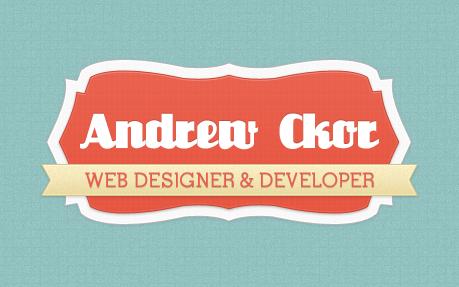 Andrew Ckor - Personal Portfolio
