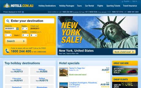 Hotels.com.au