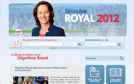 Ségolène Royal 2012