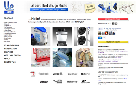 Albert Llort - Design Studio