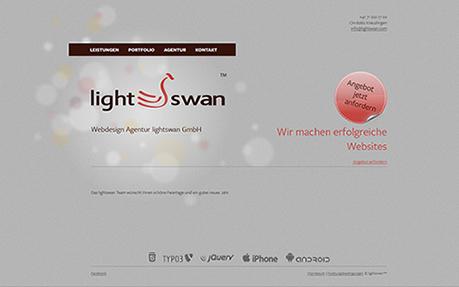 Webdesign Agentur lightswan GmbH