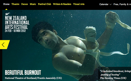 New Zealand International Arts Festival 2012
