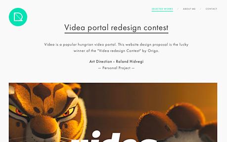 Roland Hidvegi UI Designer
