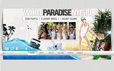 White Paradise NYE 2011