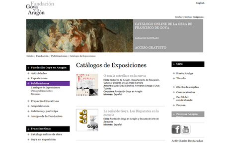 Fundacion Goya en Aragon