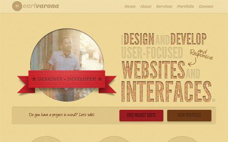 Earl Varona Portfolio Site