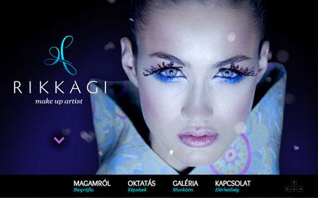 RikkAgi makeup artist