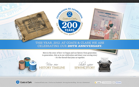 Coats & Clarks 200th Year Anniversary
