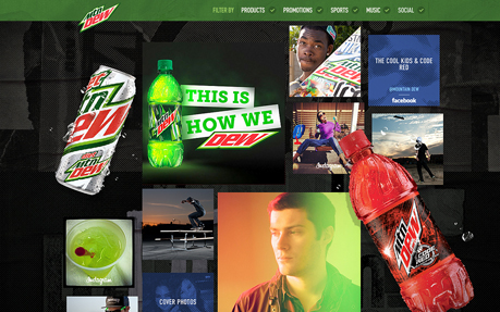 The New MountainDew.com
