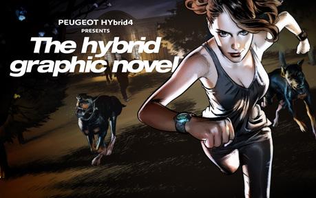 The Hybrid4 Graphic Novel