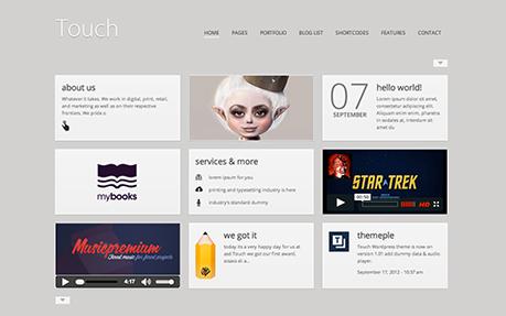 Touch Wordpress Theme
