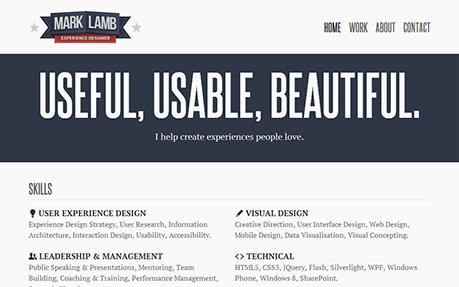 Mark Lamb | Experience Designer