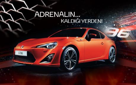 Adrenalin Kaldigi Yerden... Toyota GT86