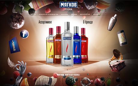 Myagkov vodka