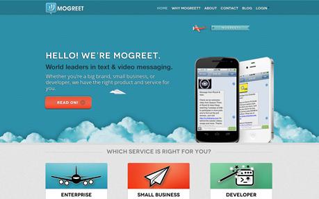 Mogreet's Main Site